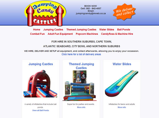 Jumping Candy Castles